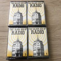 Readers Digest. The Golden Age Of Radio. Vols 1 to 4. Cassettes New & Sealed