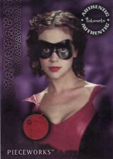 Charmed Power of Three Alyssa Milano as Phoebe PW5 Red Superhero Costume Card