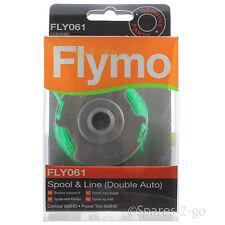 Flymo Bobine & Ligne du PERCo 2.0 mm Double Auto FLY061 véritable contour 600HD partie