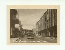 RUE RACINE, CHICOUTIMI, QUEBEC, CANADA VINTAGE SNAP SHOT PHOTO
