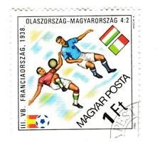 stamp SOCCER FOOTBALL WORLD CUP 1938 France Italy Hungary