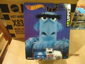 HOTWHEELS RARE THE MUPPETS SAM THE EAGLE 52 CHEVY TRUCK ALLOYS RUBBER TYRE