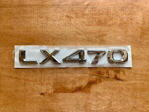 Lexus LX470 Rear Truck Tailgate EMBLEM LOGO BADGE DECAL 1998 - 2007 nameplate