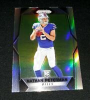 A31 2017 Prizm SILVER ROOKIE SP NATHAN PETERMAN RC REFRACTOR BUFFALO BILLS