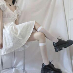 New Women Socks Fashion Stockings Casual Cotton Thigh High Cotton High Socks