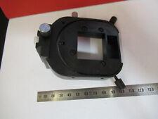 Leitz Wetzlar Laborlux Condenser Holder Microscope Part As Pictured B2 A 15