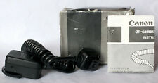 Genuine Canon off-camera shoe cord 2 for EOS cameras, inc. box/instructions.