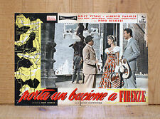 PORTA UN BACIONE A FIRENZE fotobusta poster Milly Vitale David Michelangelo AX30
