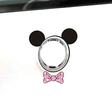 Fun &cute car decal/ sticker of Disney Minnie Mouse Ears &Ribbon Logo Decoration