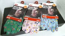 Ace 7180672 Canvas Work Gloves, 1 Pair, Great for Gardening, Youth Small