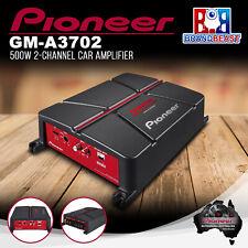 Pioneer GM-A3702 500W 2-Channel Bridgeable Amplifier