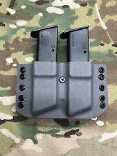 Battleship Gray Kydex Sig P226 P228 P229 Dual Magazine Carrier