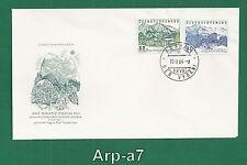(Fc1086) Fdc Czechoslovakia covers 1964 Recreation Roh