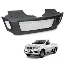 Front Grill Grille Black Net For Nissan Navara Np300 D23 2015 2016 2017 Pick up