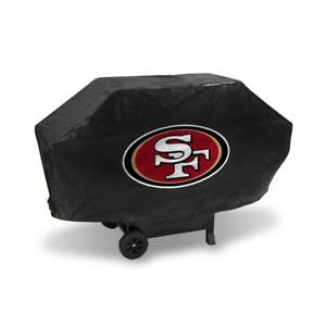 San Francisco 49ers Vinyl Padded Deluxe Grill Cover [NEW] NFL Grilling Barbeque