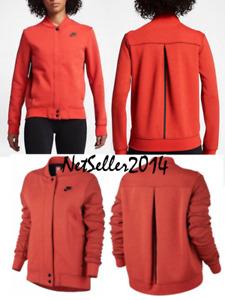 SZ XL 🆕🔥Nike Tech Fleece Destroyer Jacket Pullover Women's 835544-852 💰$120