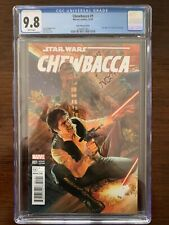 Chewbacca #1 CGC 9.8 (Marvel 2015)  Ross Variant.  Star Wars #7 cover homage!