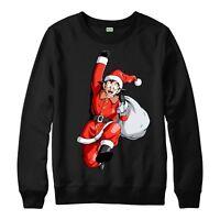Dragon Ball Z Christmas Jumper, Goku Xmas Festive Gift Adults & Kids Jumper Top