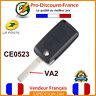 Clé Pour Peugeot Citroën 2 boutons Coque Plip Télécommande CE0523 VA2
