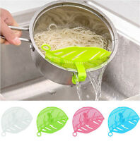 Home Silicone Soup Funnel Kitchen Gadget Tools Water Deflector Cooking Tool