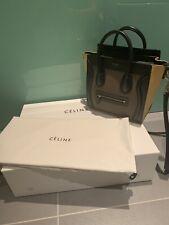 Celine Nano Luggage Leather Crossbody Bag 3 Colour Way