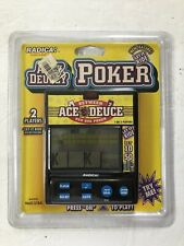 Radica Acey Deucey Poker Red Dog Poker Electronic Handheld Game Model 9600CS1BA