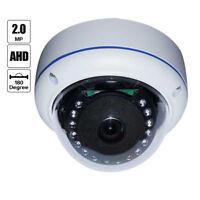 180 Degree Fisheye Wide Angle 2.0MP 1080P IR HD 1/3 Sony AHD Dome CCTV Camera
