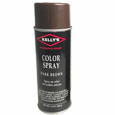 New listing 10 Ounce Kelly'S Convenient Instant Spray Color Smooth Leather Articles Black U-