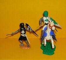 Timpo 2x Topfhelmritter Phönix Reiter Soldat Gruppe Konvolut Mittelalter Toys