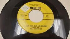 The Nightwinds I Can't Stand That Rock & Roll/ Am I To Rare Doo-Wop Monitor 1236