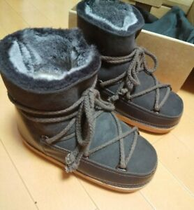 IKKII Classic Dark Brown Short Boots size:7
