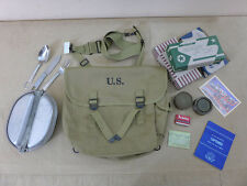Set Us Army m1936 Musette Bag ustensiles de cuisine couverts rations merovingienne