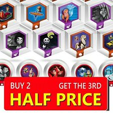DISNEY INFINITY POWER UP DISCS CAPSULES 1.0 2.0 3.0 - MAKE YOUR SELECTION