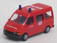"Ford Transit Bus in rot ""Feuerwehr Wülfrath ME 2872"", o. OVP, Rietze, 1:87"