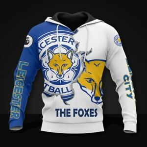 Leicester City F.C. The Foxes Unisex 3D Hoodie Pullover All Over Print