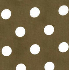 Moda Fabric Dottie Medium Dots Cocoa - Per 1/4 Metre