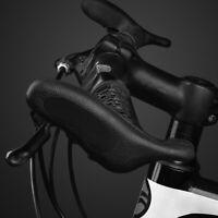 MTB Mountain Bike Bicycle Handlebar Rubber Grips Cycling Lock-On Ends Ergonomic