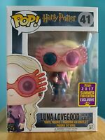 FUNKO POP! HARRY POTTER: LUNA LOVEGOOD #41...VAULTED,  HOT TOPIC EXCLUSIVE