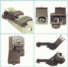 45 Degree Front & Rear Iron Sight Offset Transition BUIS Backup Picatinny Rail