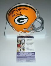 PACKERS Donny Anderson signed mini helmet w/ SB I II JSA COA AUTO Autographed