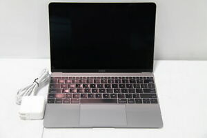 "Apple MacBook MJY42LL/A 12"" Intel Core M @ 1.2 GHz 8GB RAM 512GB SSD"