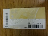 15/02/2014 Ticket: Manchester City v Chelsea [FA Cup] (Grubby). Thanks for viewi