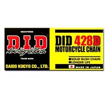 DID Standard Chain 428D/116 Open Chain With Spring Link For Zundapp KS 80 1981