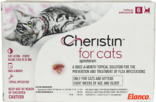 Cheristin Topical Flea Treatment for Cats - 6 pack