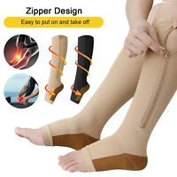 Compression Socks Pain Relief Calf Leg Foot Support Stocking S-XXL For Men Women