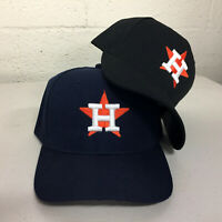 Houston Astros Cap Logo Hat Embroidered Men Adjustable Curved H Star