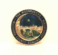 Wiltshire County Bowling Association -The Moonrakers Bowls Badge / pin