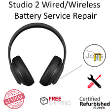 SERVICE REPAIR Beats by Dr. Dre Studio 2 Wired Wireless Battery Part Replacement