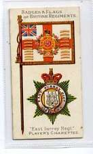 (Jk593-100) Players,Badges&Flags Of British Regiments,The Young Buffs,1904 #14