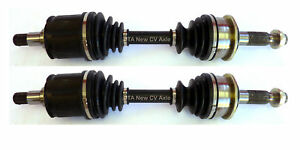 2 New CV Axles Front Pair Fit 2002 - 1996 Toyota 4Runner with 1 Year Warranty